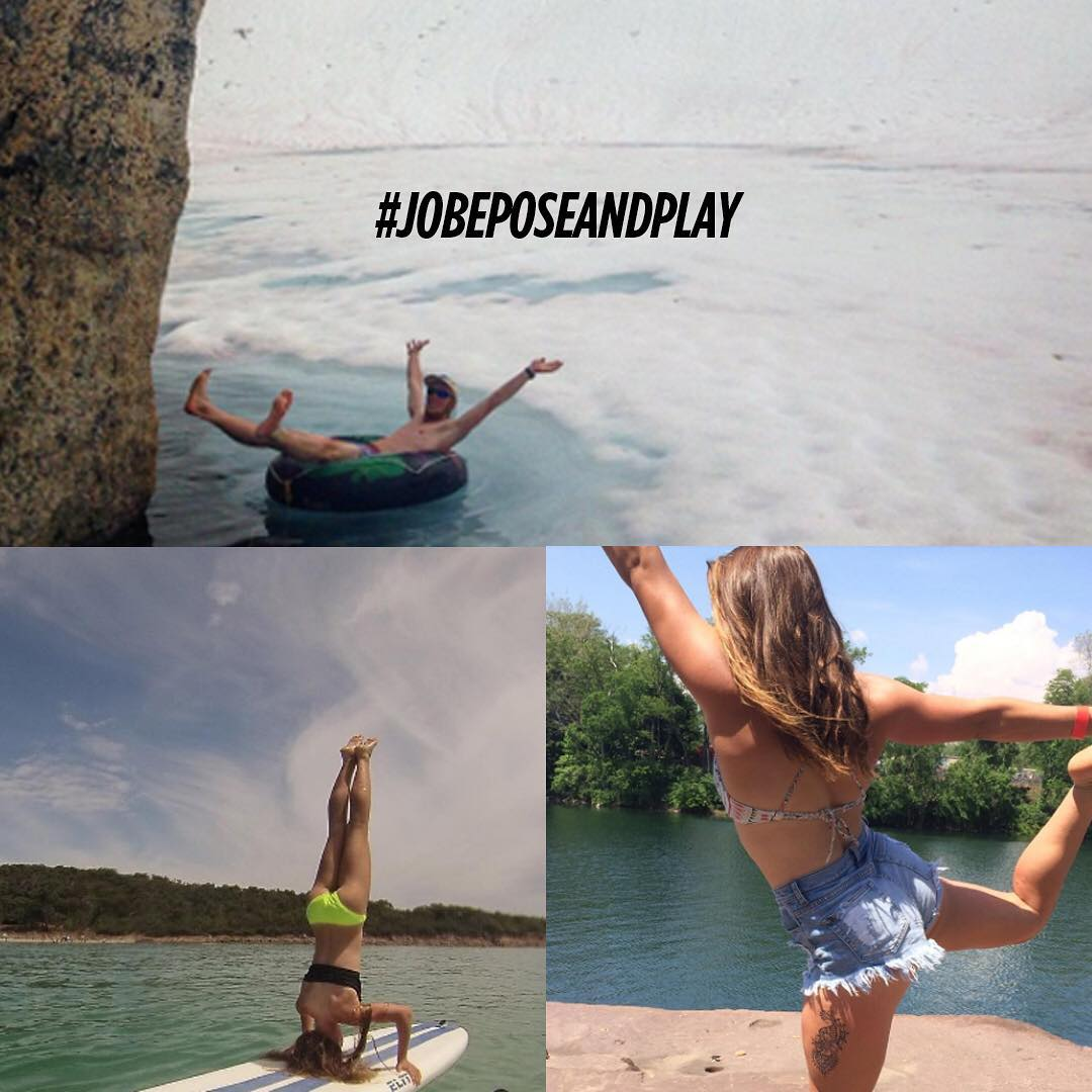 WAUW! Thank you for all those weird ultimate flexible (!) poses. We can't get enough of them. One week left to submit! @tinawebb711 @stu.monty @oliviapease #jobeposeandplay