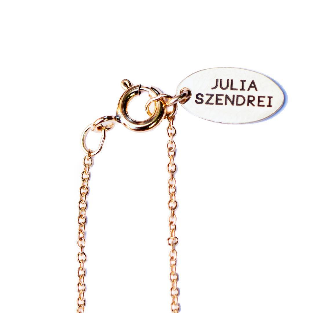 New tags! Progress takes time and if there's a little patience, well then there's potential.  #branding #juliaszendrei #jewelry