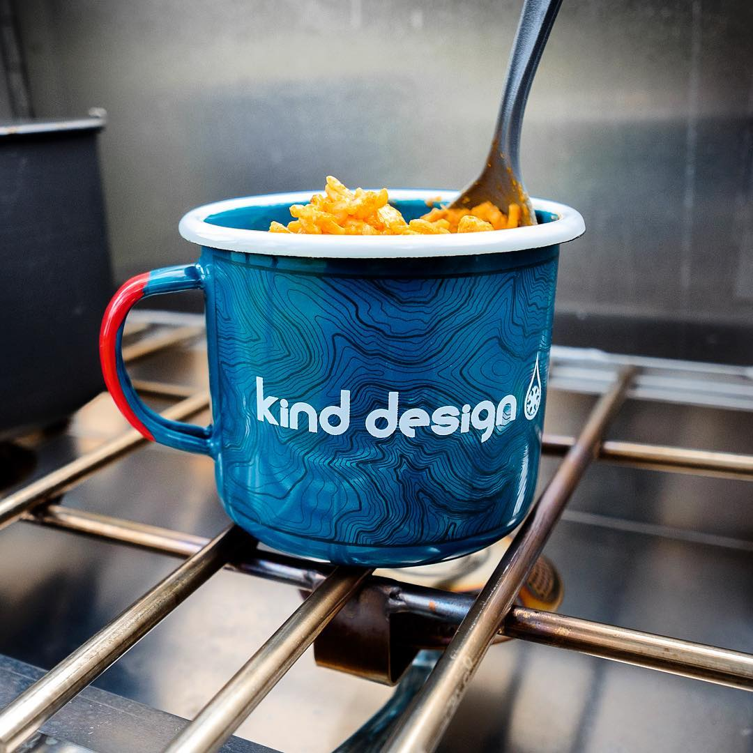 What kind of fun are you getting into this weekend?  Thanks @pascoekyle for using the mugs the way they should be used!  #kinddesign #campmug #camp #camping #colorado #topo #topography #liveyourdream