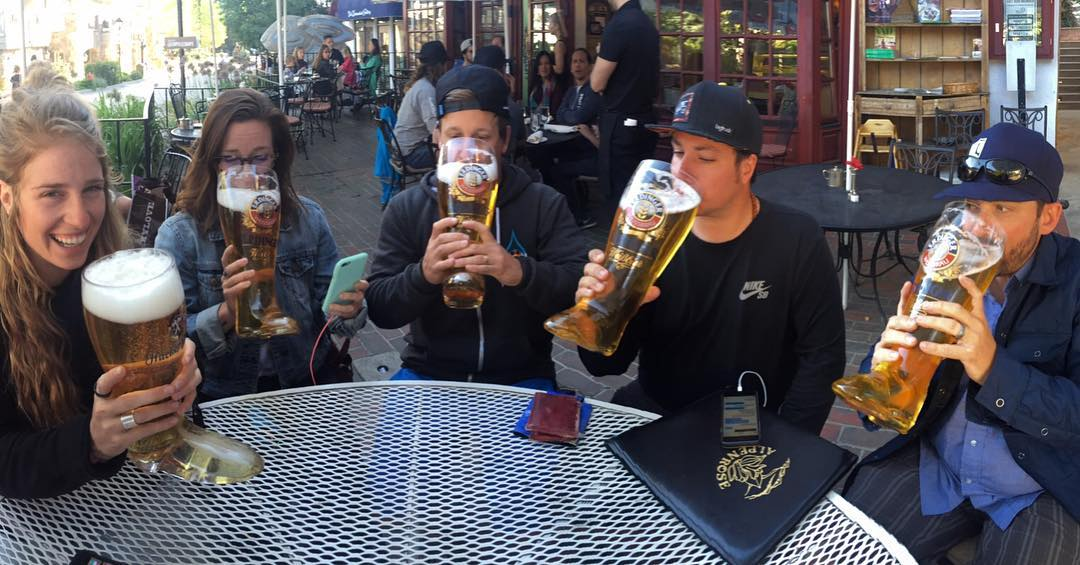 A well deserved das boot after an amazing weekend with @hi5sfoundation at the @gopro @mountaingamesvail !  Thanks to everyone that came out to say hi.  We raised a bunch of money for a great cause!  #kinddesign #hi5s #nonprofit #gopro #gopromtngames...