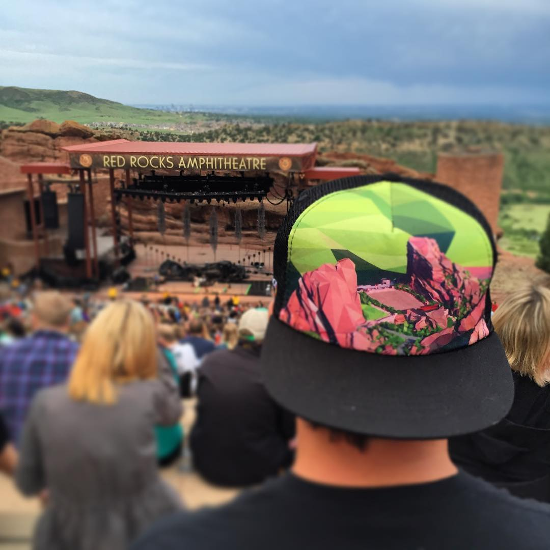 When in Rome... #kinddesign #redrocks #colorado #lumineers #liveyourdream