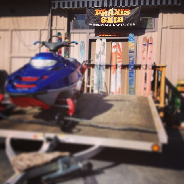 And, we're back! Tahoe is a pretty rad place. #whomakesyourskis #skiercrafted #handcraftedinthesierranevada