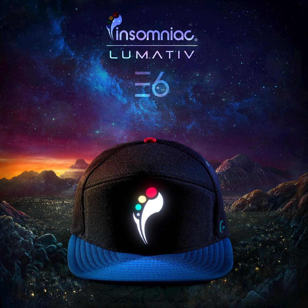 Who's your favorite act at @edc_lasvegas ? #E6 #insomniac #snapback #nightlife #lumativ
