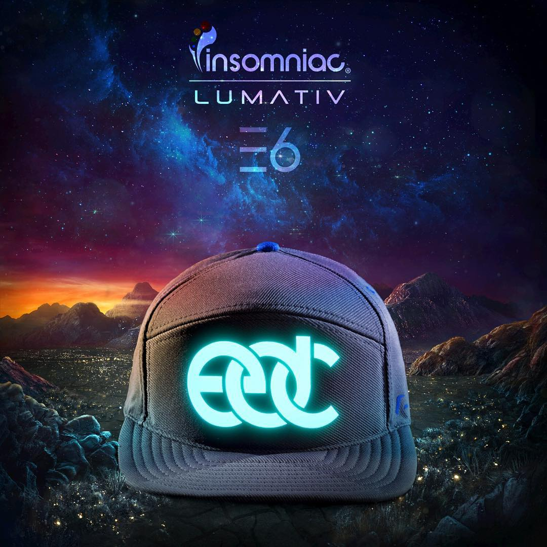@edc_lasvegas is here! Check the merch booth for the new #lumativ #E6! #edc20