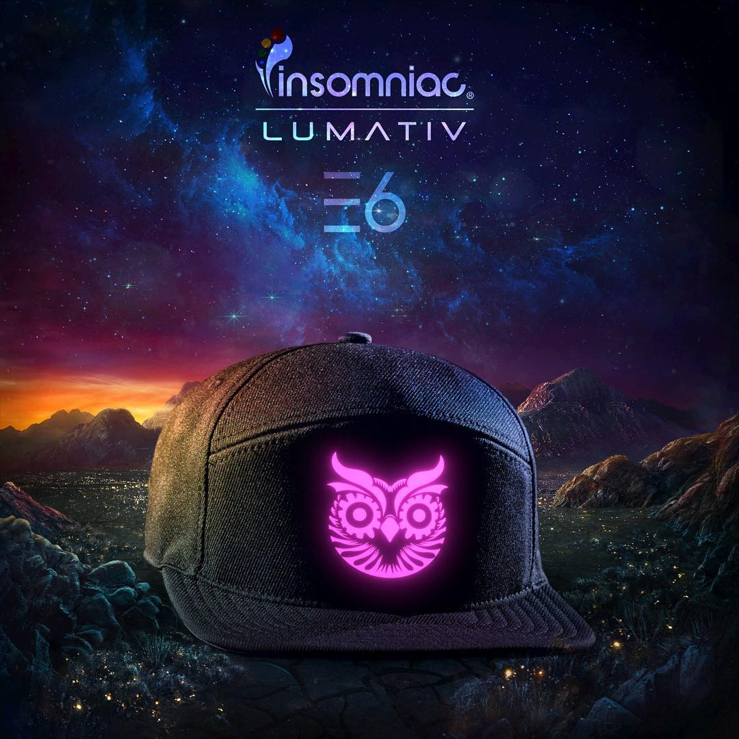 We're excited to announce —  in collaboration with @edc_lasvegas — the exclusive event release of the all new #Lumativ #‎E6 #‎Snapback in #‎LasVegas this weekend at #edc20 #‎edc2016 #EDCweek  #E6OWL  #kineticfield #EDCLV #illuminatedsnapback #snapback