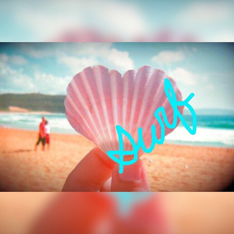 Luv Surf, Luv Life, Luv Who U R #luvsurf #seashell #love #life