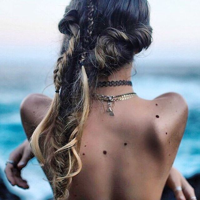 Beach Hair Don't Care #luvsurf #saltyhair #beauty #braids