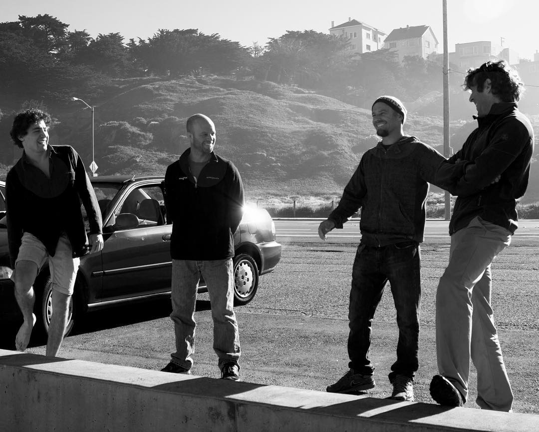 The morning team // Ocean Beach, San Francisco. #mafiateam #surfing #goodmorningsunshine