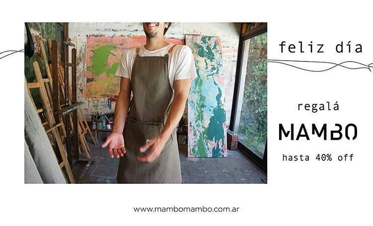 Delantales Mambo para ellos en su día - Mambo aprons for them , father's day Shop ➡ www.mambomambo.com.ar