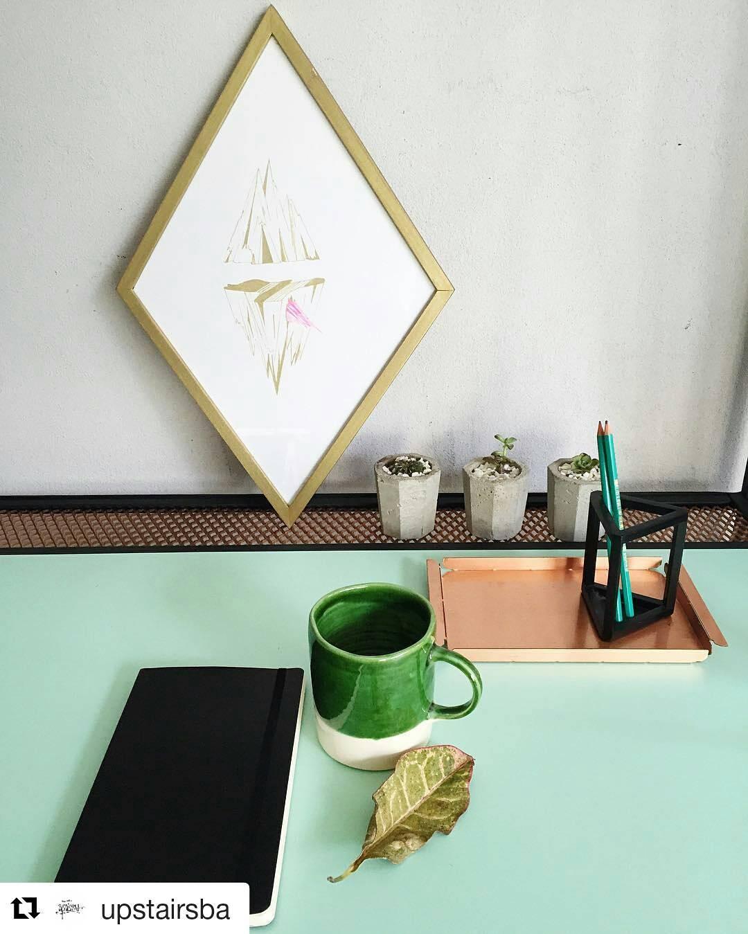 De nuestra línea Casa Mambo, la taza verde