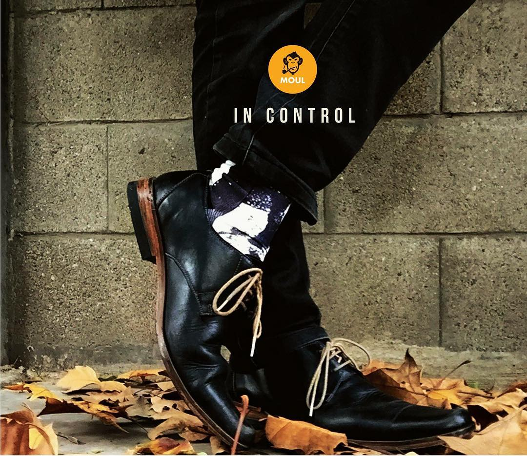 #kickthecliche  new @moul edition. just take control. SOON! #identity #feel #touch #socksoftheday #urban