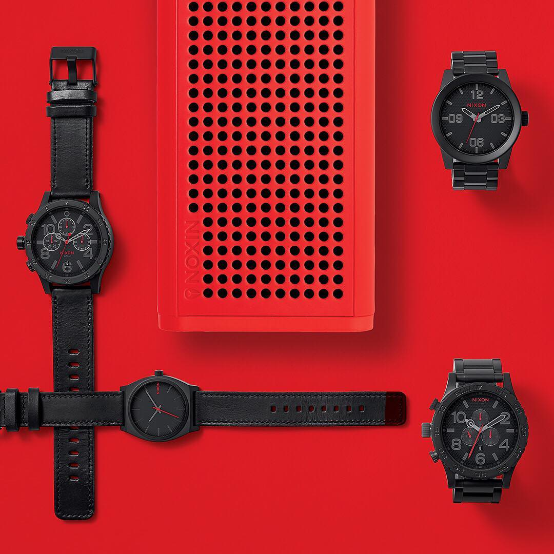 The #Infrared Collection leaves no detail over-looked with bold hits of color that pop in any setting.