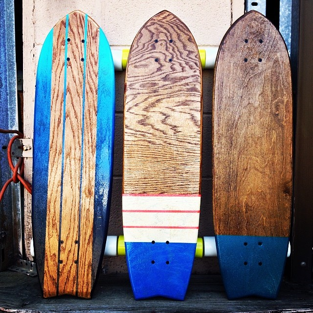 $25 off on all longboards through this Saturday. There are a bunch of new boards up now!
