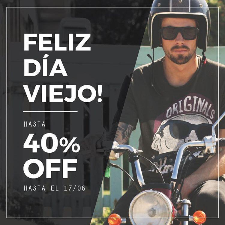 ⚡ #FelizDiaViejo ⚡ Descuentos hasta 40% OFF! Pagalas hasta en 12 cuotas sin interés y recibilas gratis!