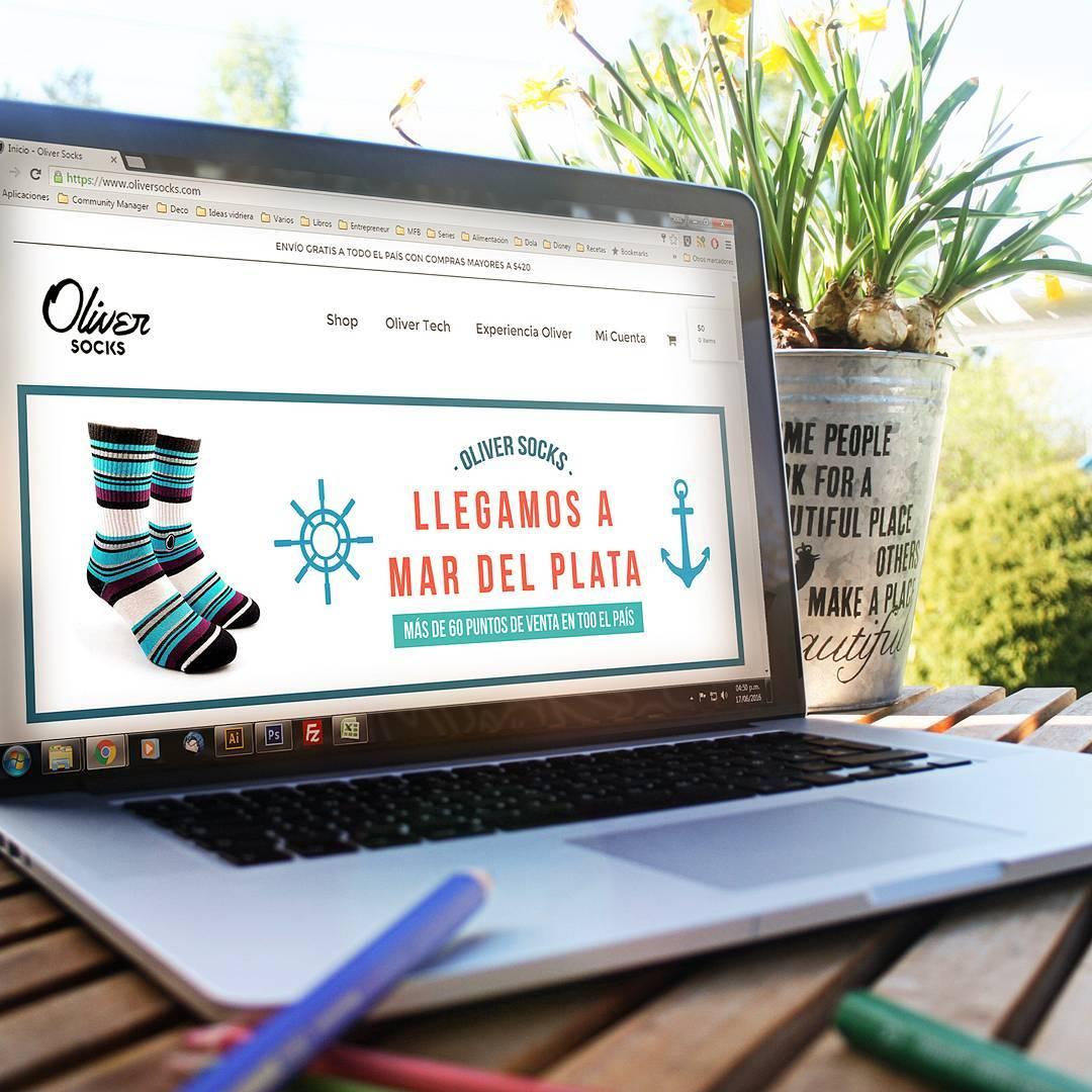 ¡Llegamos a #MarDelPlata y superamos los 60 puntos de venta en todo el país para que puedas disfrutar de mayor confort en tus pies estés dónde estés!  Buscá el local más cercano a vos y #CreaTuPropiaHistoria ingresando en la web. . . #OliverSocks...