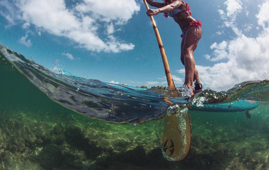 """It's a paddlers life for me!"" You know what they say, a paddle a day keeps the doctor away. @swellliving  #bamboopaddle #odinasurf #itakebioastin #starboardsup #innovatequality #standupjournal #supthemag #supingmagazine #konaboys #navitasnaturals..."