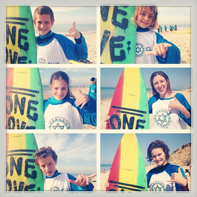 So stoked to see ReSurf boards getting passed on to new kids from the ReSurf Israel project. ONE LOVE !