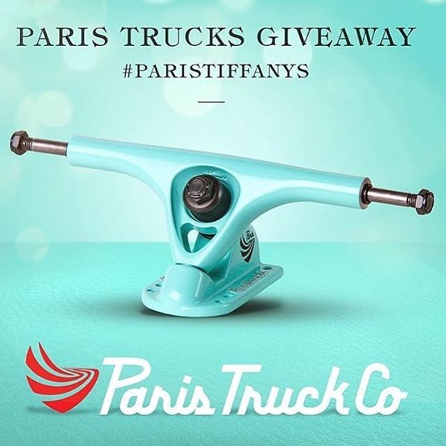Last day to be apart of this giveaway!! Go back to the old Tiffany post for details! #paristrucks #paristiffanys
