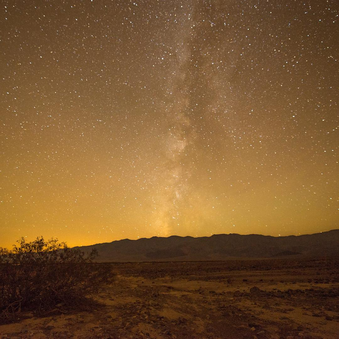 DEATH VALLEY BY NIGHT  beautiful #radparks shot by #parkchamp @petergolson #nps100 #outdoorphotography #deathvalleynationalpark www.olsonphotographer.com
