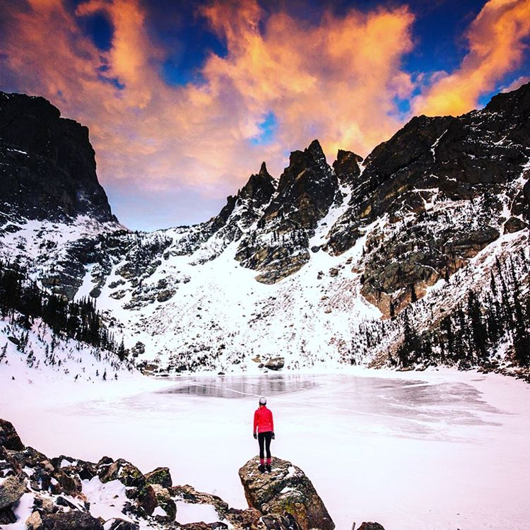 TAP THE ROCKIES  #radparks shot by @christinhealey of the beautiful @rockymountainnationalpark #parkchamps #outdoorphotography #parksproject