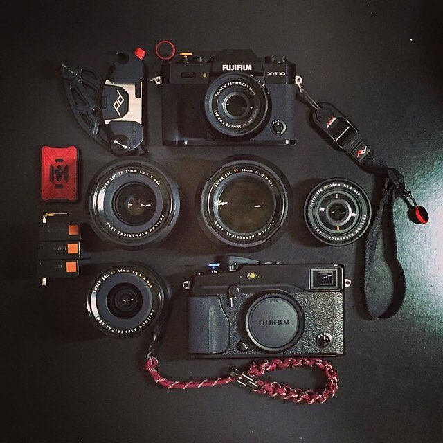 Good looking compact kit dump by @erozalez. #findyourpeak #bagdump #