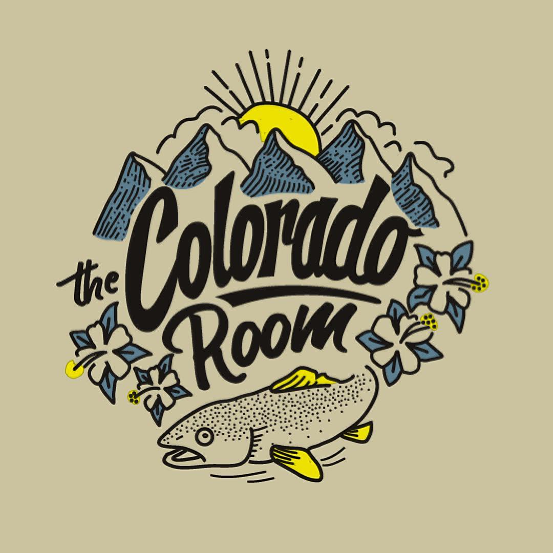Stoked on this design and print for The Colorado Room crew. These are available with a side of beer and poutine exclusively at @thecoloradoroom // #pinebrand #pinemfg #waterbasedink #HandPrintedInTheRockies
