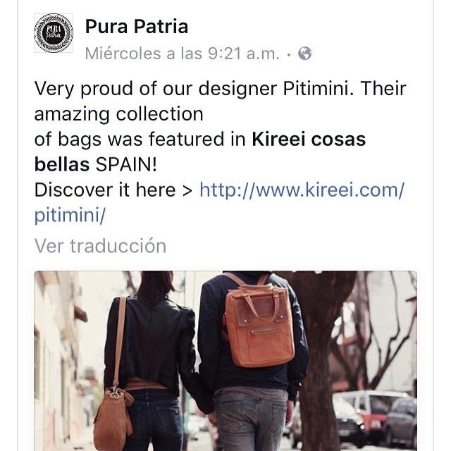 #Pitimini #Amsterdam eshop @purapatria_  cc @leticiabordoni