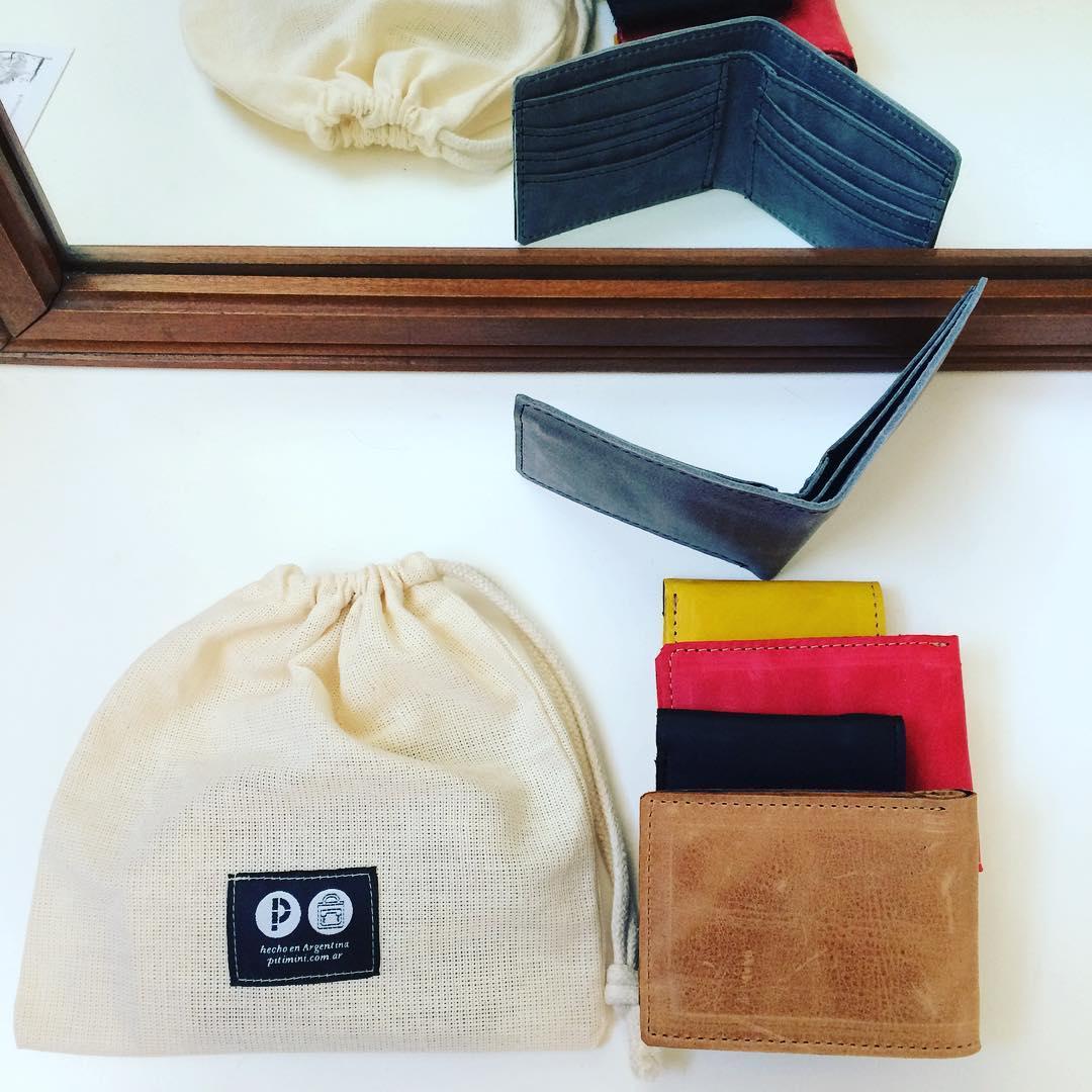 #billeteras #parapapá #Pitimini #hechoamano #diseño #trabajojusto :D