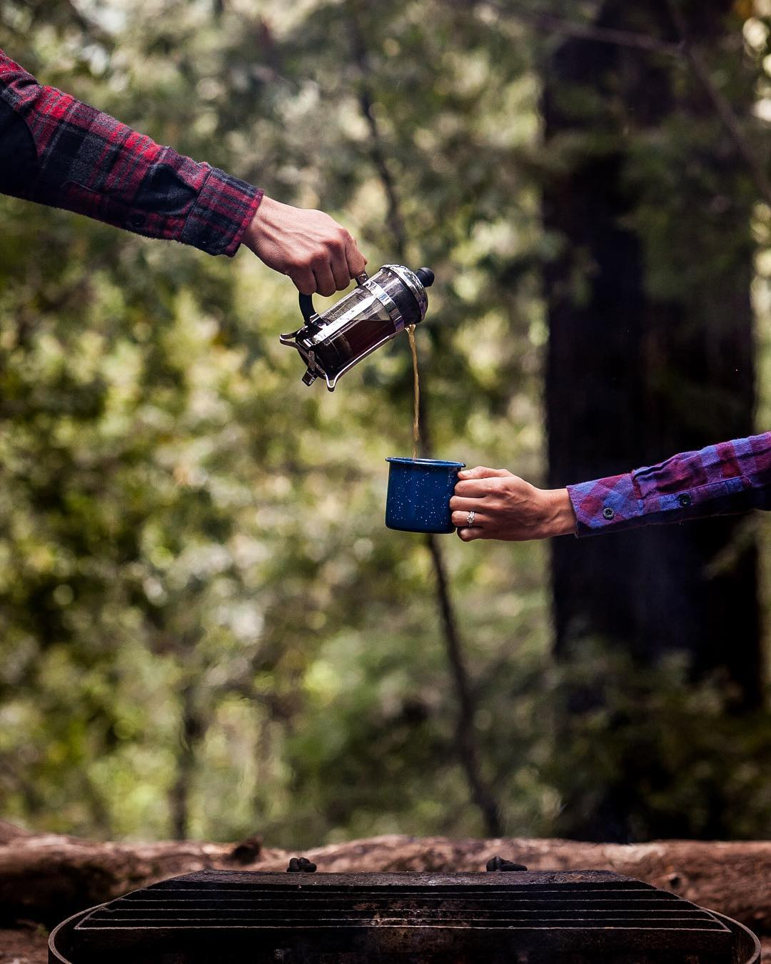Time to start your week.  #pladra #camping #coffee #campfire #morning #outdoors