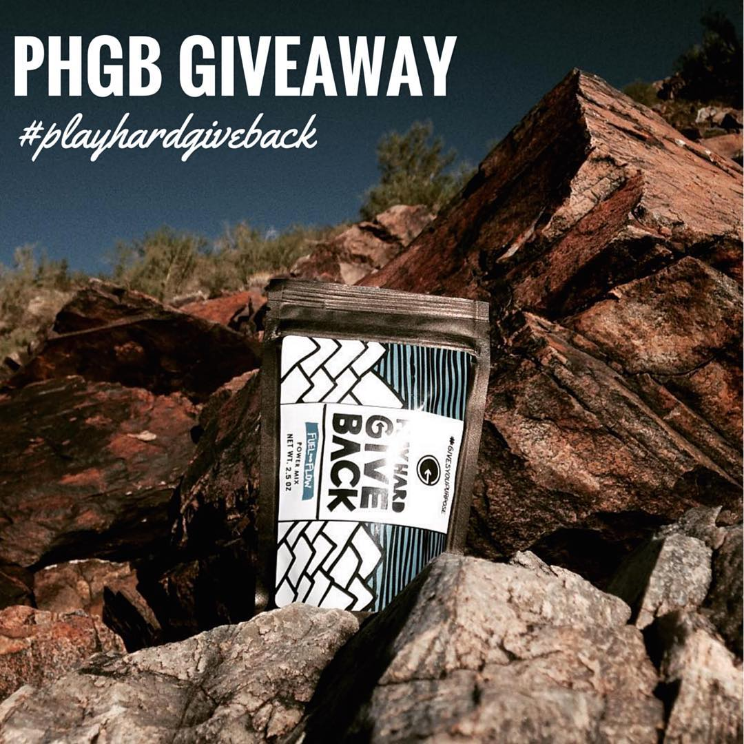 Just your weekly reminder that the #phgb goodie bag giveaway is still underway! Post your awesome content with the hashtag #playhardgiveback during the month of June to win some awesome snacks! Keep the submissions coming! #snackwithpurpose