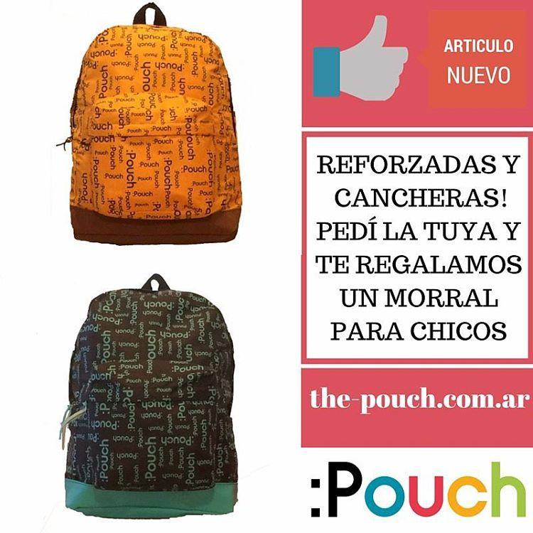 Entrá a www.the-pouch.com.ar/mochilas/ y conocelas! Envíos gratis dentro de Capital Federal.