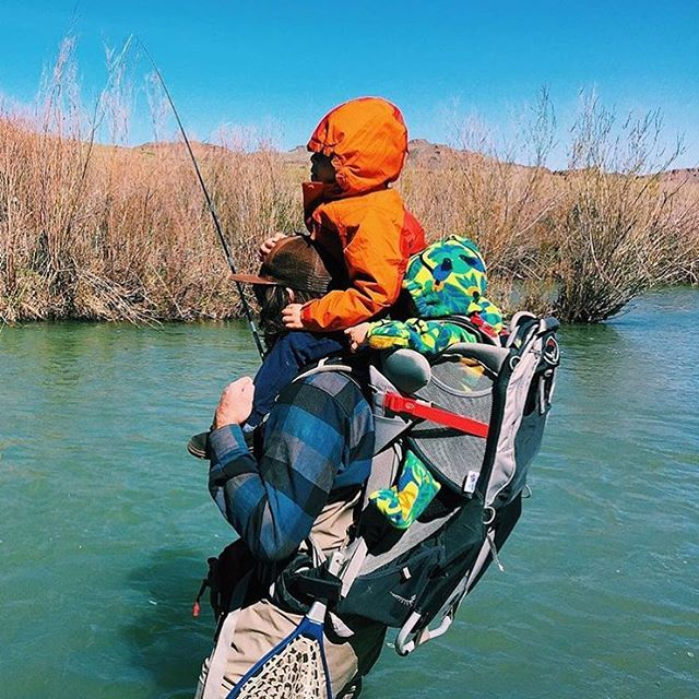 Happy Father's Day to all the multi-tasking men out there #getoutandfish  Photo by @meganhollenback