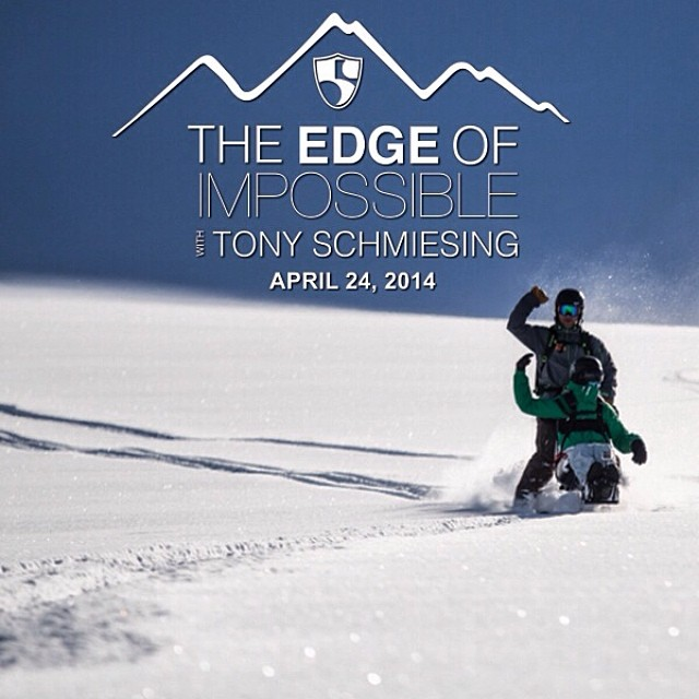 "It's LIVE! Watch and share ""The Edge of Impossible with Tony Schmiesing"" 