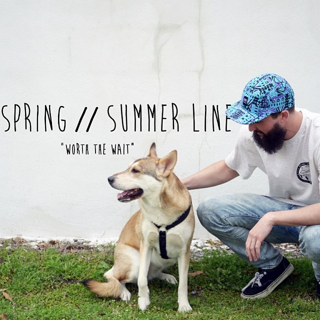 "Spring // Summer line ... ""Worth the wait"" dropping any day now! We re amped the site with a new look, and tons of new products. Stay tuned for the official launch day // #stzlife #worththewait #springsummer #trippycamper #professionaloutsider..."