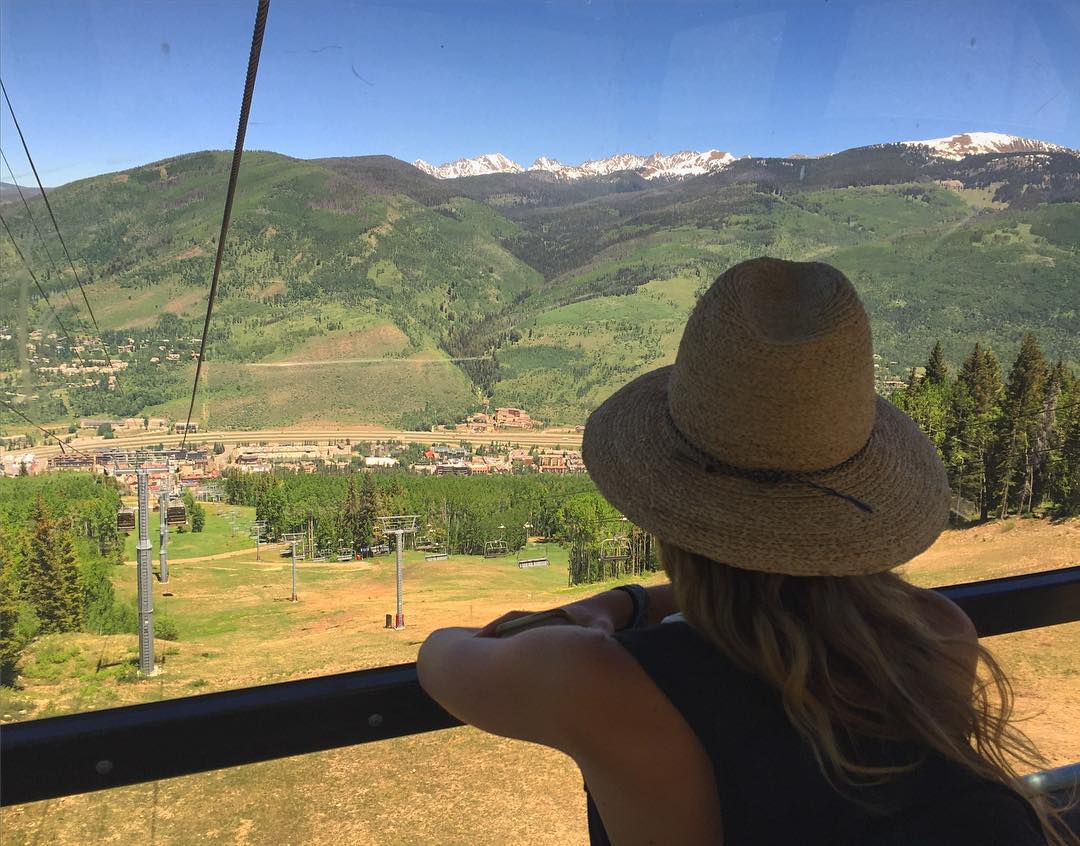 "Always hard saying goodbye to this incredible place and our incredible friends. Had a blast spending time with our Vail Family and being back in the Valley for summer. The saying is true ""come for the Winters, Stay for the summers"" ... because the..."