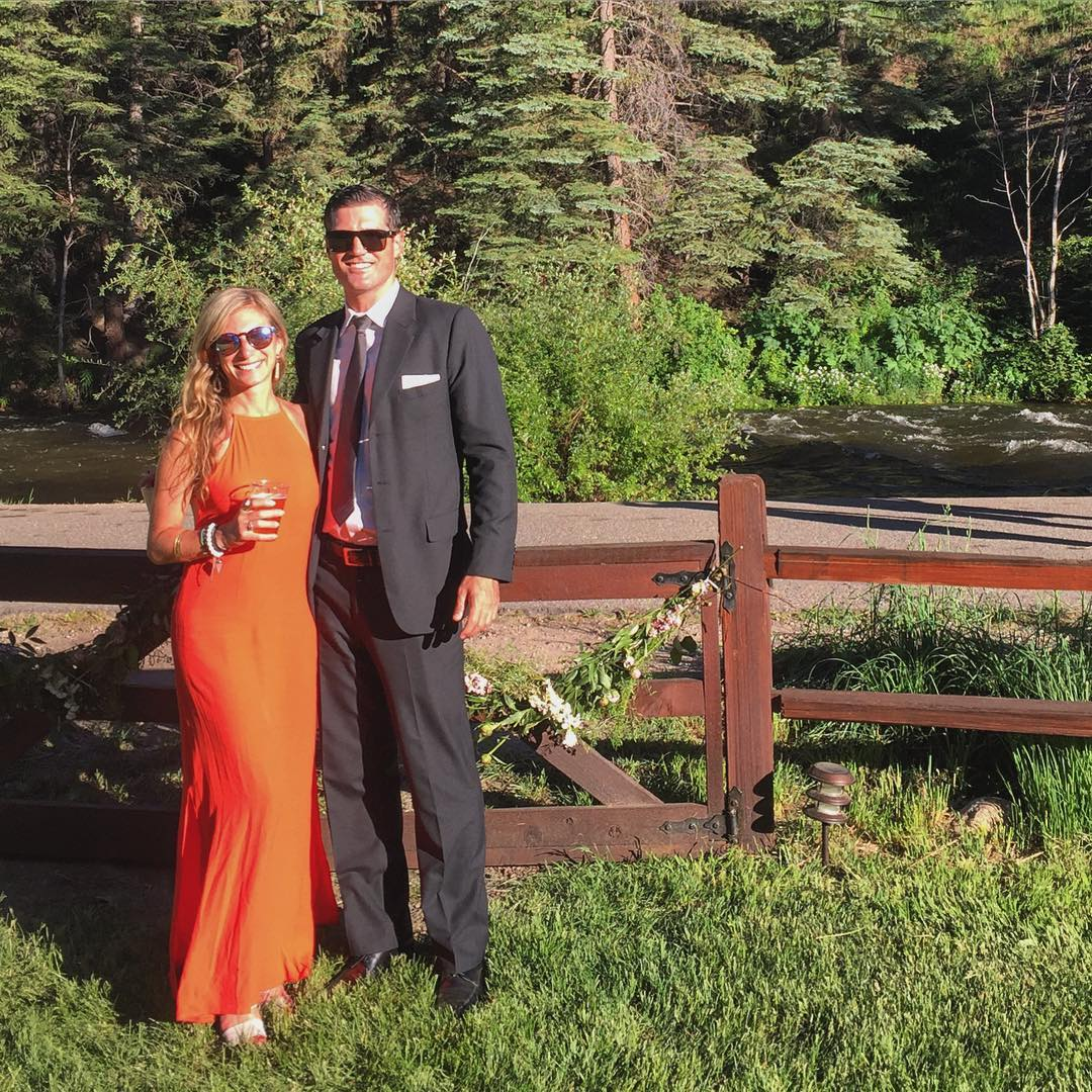 We clean up nicely #klunkertobunker #roadtrip #vail #wedding #roadtrippinwithrachel
