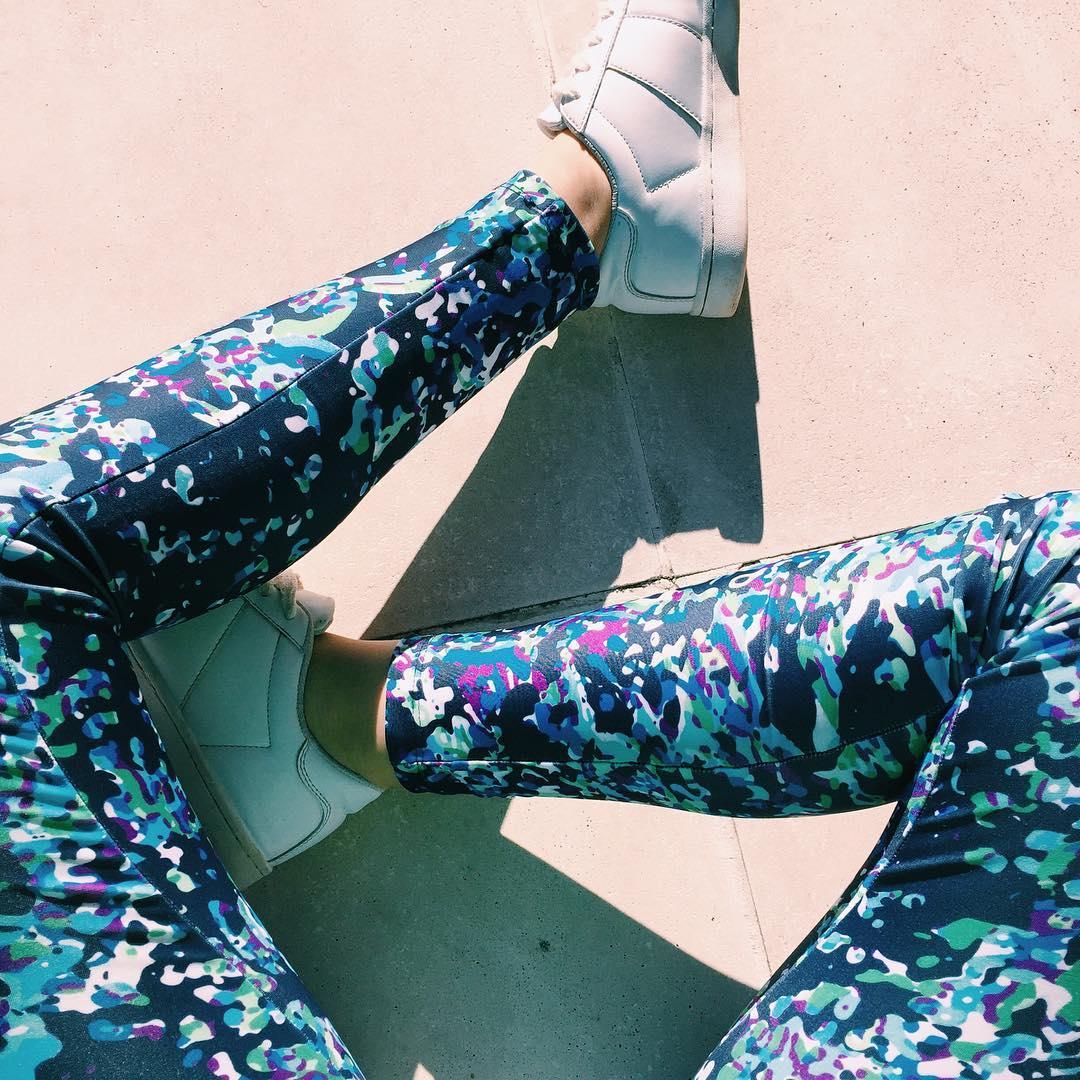 Leggings all day long