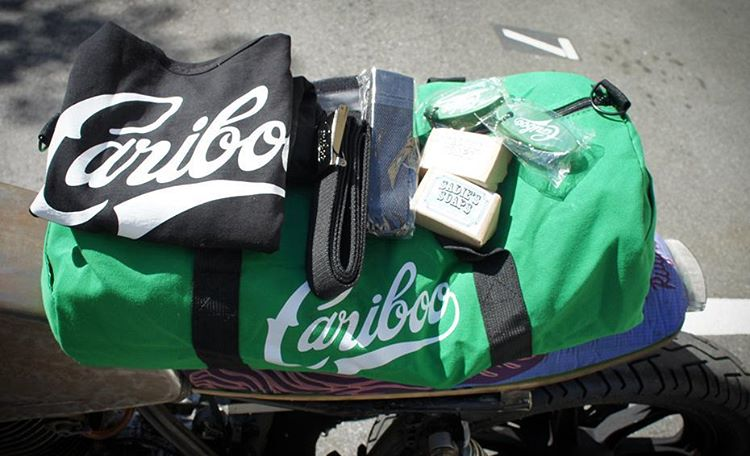 We have a giveaway for ALL ONLINE ORDERS between now and end of next weekend! Someone lucky will win a nice Cariboo weekend getaway duffel bag, two belts, two packs of artisinal beer soap, a large tanktop and two floating keyrings. Perfect for a...