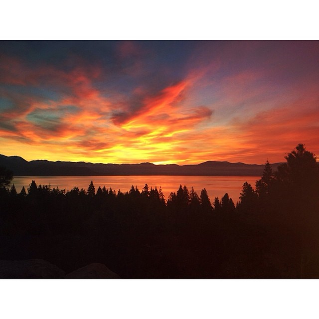 'Top of the Morning ~ 04.11.14' The best part of waking up. #tahoemade #thisistahoe