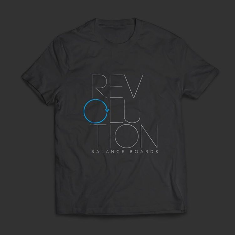 Check our tshirts out when you browse balance boards on revbalance.com