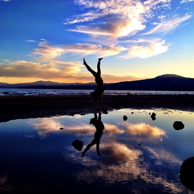 'This Is Tahoe [16] ~ 04.10.14' Our bud @dreamingdrew doing what he does best. #tahoemade #thisistahoe