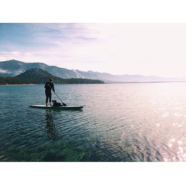 'This Is Tahoe [15] ~ 03.27.14' @clairecudahy making the transition. #thisistahoe #tahoemade #SuPRING