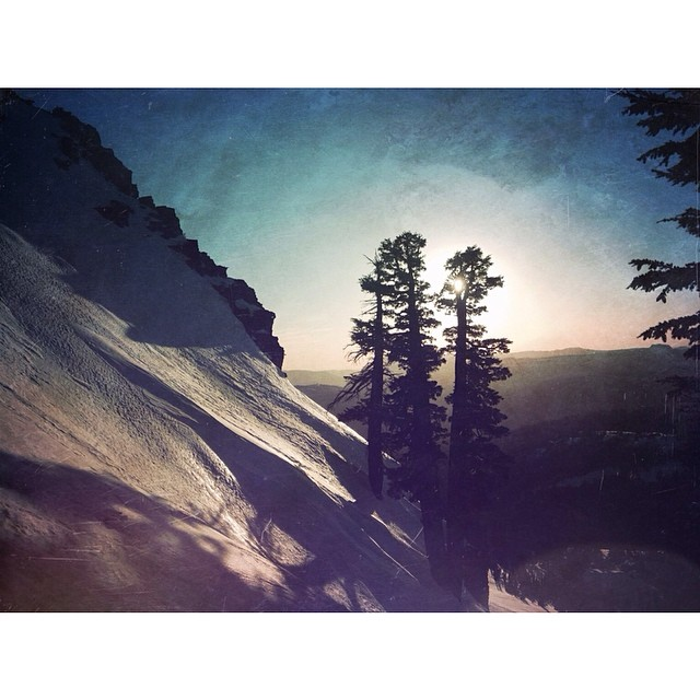 'Benson Hut ~ 03.23.14' A truly special vantage point on the Sierra crest. #thisistahoe #tahoemade #sierraclub