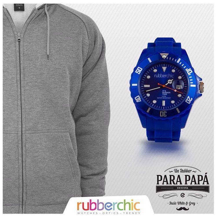 """¡Te ayudamos a elegir el mejor Rubber para Papa! - Si tu papá es """"Deportivo"""", comprale un Basic Blue. #UnRubberParaPapá #Basic #Blue"""