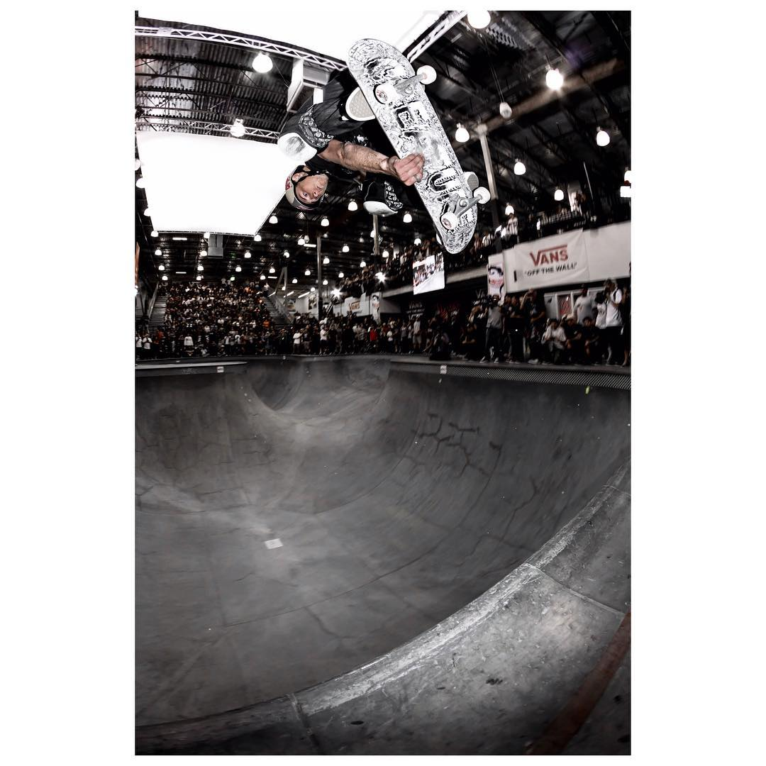 @chrisrussell_mbk Indy Disaster at the Vans Pool Party