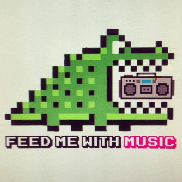#feedme with #music #urbanroach #urbanlife #pixelart #8bits #cocodrile