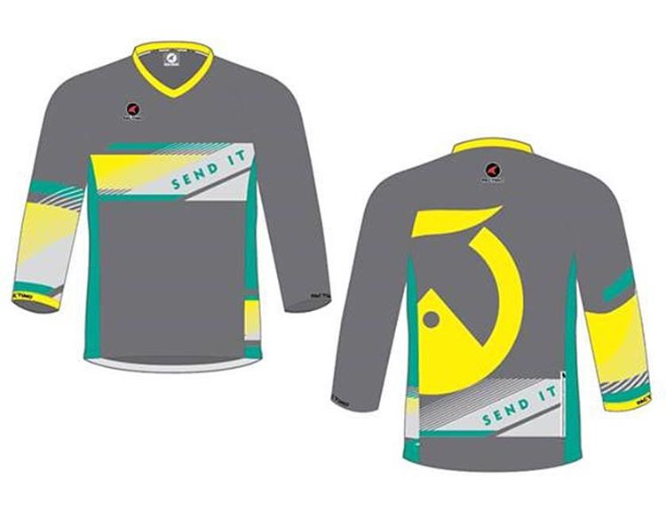 Hey all you mtn bike friends!! Send It is doing a limited run of MTB jerseys! Pre-order yours today for July delivery. Ride fast, SEND IT! Link in bio to order.  A portion of your purchase supports @senditfoundation  #sendit #senditfoundation #shred...