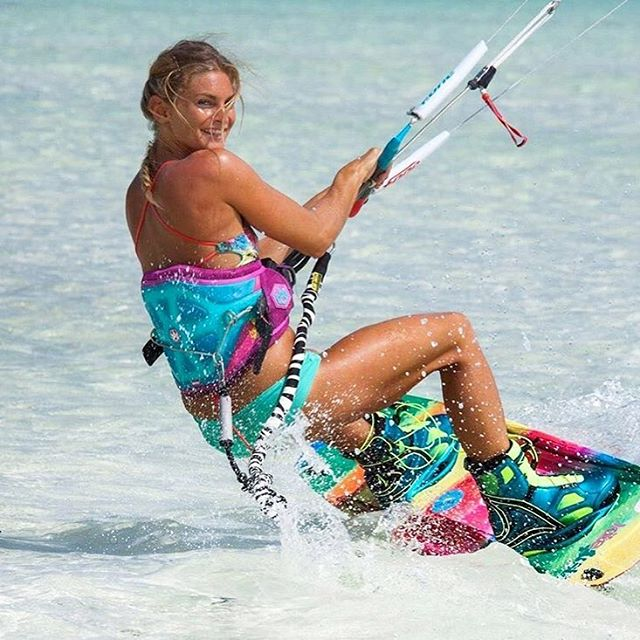 Our beautiful #wcw // @sofi.chevalier runs @kitesista , kites like a champ, coaches camps all over the world and is a proud mama to a beautiful little girl! We couldn't be more stoked to have her as part of our #teamsensi
