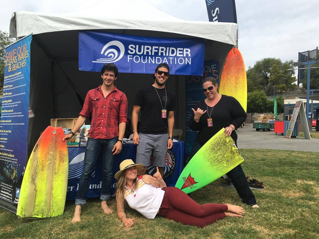 Come hang with us at @live105 BFD today! @surfrider #surfrider #surfriderfoundation #protectandenjoy #live105bfd