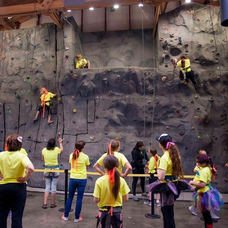 The 2nd annual SheJumps Wild Skills youth initiative in Seattle was a wild success. Girls got free education in climbing, navigation, Leave No Trace and more. Big thanks to @mountaineersorg and our amazing volunteers.
